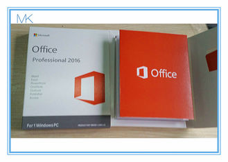 Genuine Microsoft Office Professional 2016 Product Key 32 Bit / 64 Bit USB Flash Driver COA