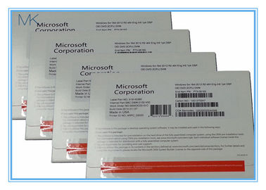 Microsoft Windows Server Standard 2012 R2 OEM 64bit OEM 2 CPU 2 VM Easy To Use