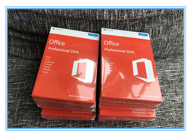 Genuine Microsoft Office Professional 2016 Product Key COA PKC Only Orange Pack