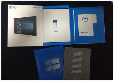 Microsoft Windows Software , Windows 10 Home Full Version 32 & 64- bit USB Flash Drive Retail box